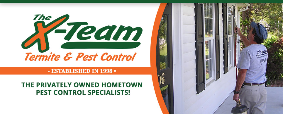 The Privately Owned Hometown Pest Control Specialists!